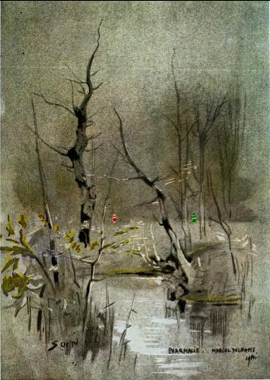 Marcel Duchamp [1914] Pharmacie.