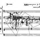 Sylvano Bussoti [1980] XIV piano piece for David Tudor 4. In A Thousand Plateaus: Capitalism and Schizophrenia. New York: Continuum, p.3.