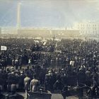 Chartist Meeting on Kennington Common, 10 April 1848. Photo by William Kilburn