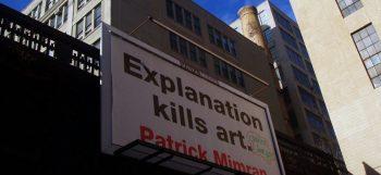 Patrick Mimran [2004] Billboard Project, New York. Photo Sophia Kosmaoglou.