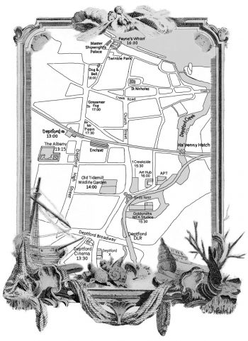 [ARTCRAWL]#15 Deptford MAP